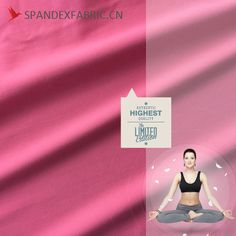 Cotton Style Breathable Stretch Yoga Wear Fabric is made from polyester spandex and it is very similar to cotton fabric, good in breathable feature. Yoga Wear, Cotton Style, Stretches, Cotton Fabric, How To Wear