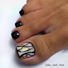 Diva Nails, Glam Nails, Classy Nails, Bling Nails, Trendy Nails, Fingernail Designs, Toe Nail Designs, Sns Nails Colors, Nail Mania