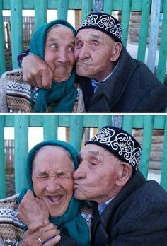 You are never too old to laugh...marry your best friend! ha!