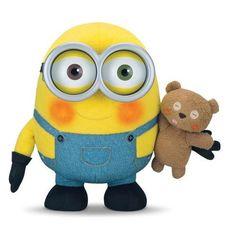 Plush Cuddly Bob With Teddy Bear