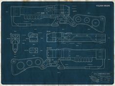 AER9 rifle plans by Volpin Props