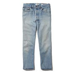 RE/Done High Rise Crop Jean