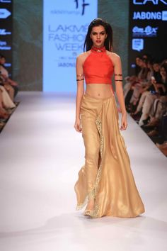 Lakmé Fashion Week – NIKHIL THAMPI AT LFW WF 2015