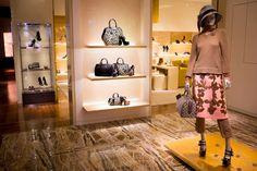 Louis Vuitton Arrives on Shanghai Express - Inside the Louis Vuitton store