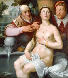 arte y poesía erótica — Cornelis Van Haleem. Arte renacentista.