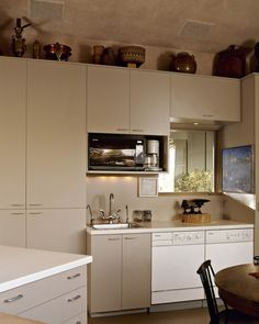 Beige Kitchen Cabinets