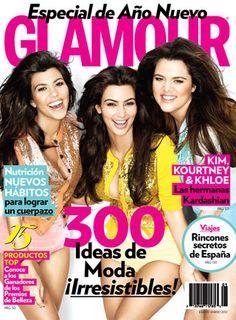 ENERO 2012 // Kim, Kourtney & Khloe. Las hermanas Kardashian.