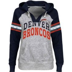 Amazon.com: Denver Broncos Womens Huddle Hoodie III Lightweight Sweatshirt Navy: Sports & Outdoors
