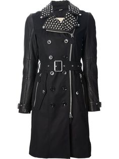 Burberry Brit Studded Trench Coat