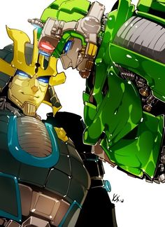 Imagine you as human standing in Front of them, looking up to them and they would look at you like this! Is it a dirty smile or what? Please help me xD! Transformers Drift, Transformers Armada, Transformers Characters, Transformers Bumblebee, Transformers Optimus, Optimus Prime, Comic Collage, Fight Me Meme, Dragon Rey
