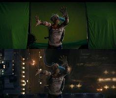 Esquadrão Suicida: veja como é o filme antes e depois dos efeitos especiais…