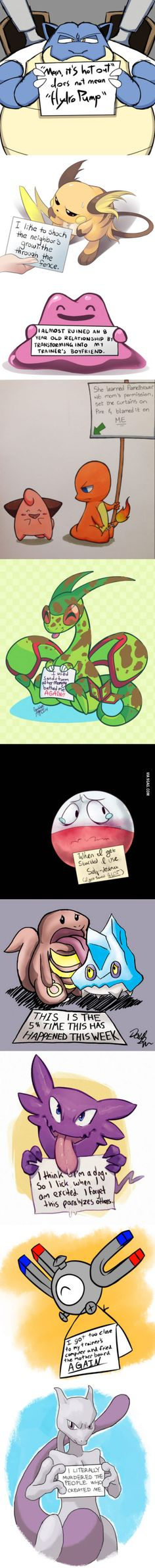 Pokemon Shaming - the last one though, hahahahaha