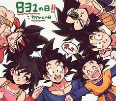 Família de Goku