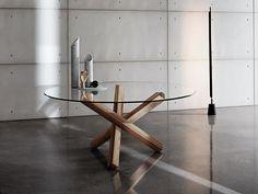 Descarregue o catálogo e solicite preços de Aikido round By sovet italia, mesa redonda de vidro