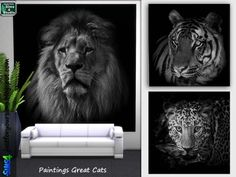 Just for your sims: Painting Great Cats • Sims 4 Downloads