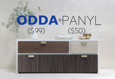 ODDA Hack Pack | PANYL is the easiest, fastest, cheapest way to customize IKEA Expedit, Malm, Besta, Billy, Ekby, Kura, Latt and more.