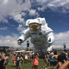 Coachella 2014 Spaceman  #CoachellaAstronaut #PoeticKinetics www.PoeticKinetics.com