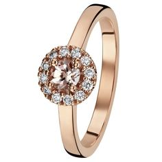 Rohkea ja viettelevä Valerie on yksi rakastetuimmista Kohinoor-sormusmalleista. Sirossa sormuksessa on pyöreä halo-istutus, jonka keskellä säihkyy hempeän punainen morganitti. Timantit 12 x 0,01 H/VS + 4mm Morganiitti. Design Sami Laatikainen. Suositushinta 1395 €. Halo, Wedding Rings, Engagement Rings, Jewelry, Design, Enagement Rings, Jewlery, Jewerly, Schmuck