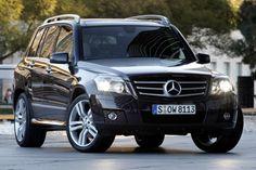 Mercedes GLK....black on black etc. -  End of 2012 ride! :)