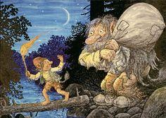 ˇˇ Los Trolls, Baumgarten, Pretty Drawings, Fairy Garden Houses, Goblin, Faeries, Elves, Illustrators, Fantasy Art
