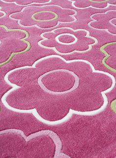 Cilek Flora Teppich     Limited Edition     So richtig gemütlich wird es  erst mit einem schönen Teppich in den passenden Farben. 7fd515abc79