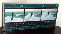 Kereon Lighthouse 750 Piece Tri-Panoramic Jigsaw Puzzle Over 3 Feet Wide Buffalo Games BGI NIB