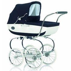 2014 Classic Pram - This classy pram, with unmistakable English style, has been on the market for over four decades, with only slight improvements to comply with new safety standards and to provide the utmost comfort for your baby.