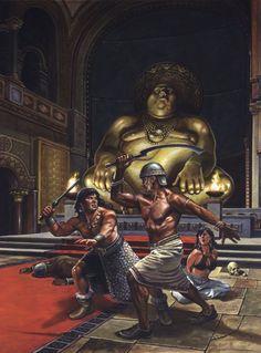 High Fantasy, Sci Fi Fantasy, Fantasy World, Paladin, Frank Frazetta, Conan The Barbarian, Sword And Sorcery, Fantasy Illustration, Sci Fi Art