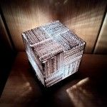 DIY lampe en carton / cardboard light