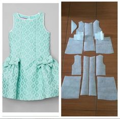 Kids with bow and flare skirt ? pattern Order by line Kids with bow and flare skirt ? pattern Order by line Frock Patterns, Baby Girl Dress Patterns, Dress Sewing Patterns, Little Girl Dresses, Clothing Patterns, Baby Dress Design, Blog Couture, Skirts For Kids, Kids Frocks