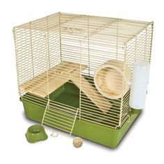 Ware Naturals Wire and Wood 16-inch Hamster Cage and Kit