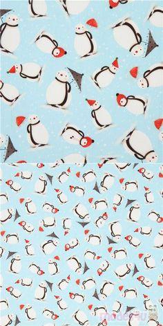 "light blue cotton fabric with little girl, rabbits, snow, snowmen, mailbox etc., Material: 100% cotton, Fabric Type: smooth cotton fabric, Fabric Width: 109cm (43"") #Cotton #Characters #Christmas #USAFabrics Santoro London, Michael Miller, Christmas Fabric, Mailbox, Snowmen, Rabbits, Fabric Patterns, Little Girls"