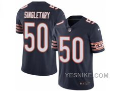 http://www.yesnike.com/big-discount-66-off-mens-nike-chicago-bears-50-mike-singletary-elite-navy-blue-rush-nfl-jersey.html BIG DISCOUNT ! 66% OFF ! MEN'S NIKE CHICAGO BEARS #50 MIKE SINGLETARY ELITE NAVY BLUE RUSH NFL JERSEY Only 24.39€ , Free Shipping!