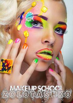 Tatyana Zolotashko Makeup  Stunning Work | Fantasy | Candy #colors