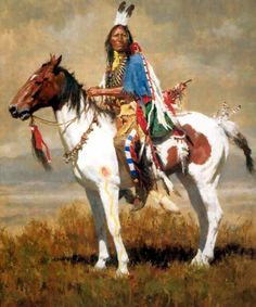 NEW Special best Western Art oil painting-American natives Indian hand painted shipping cost Native American Horses, Native American Paintings, Native American Wisdom, Native American Pictures, Native American Artists, Native American History, Indian Paintings, American Indians, American War