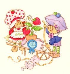 Doll uk strawberry shortcake vintage
