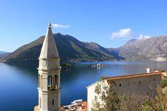 Breathtaking views in Kotor, Montenegro.