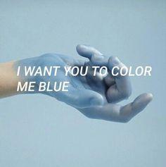 """Blue"" by Troye Sivan Music Lyrics, My Music, Troye Sivan Lyrics, The Garden Of Words, Indie, Sayaka Miki, Blues, Rhapsody In Blue, Hardcore"