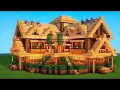 Ultimate Minecraft Survival Base With Everything You Need To Survive! ( Ultimate Minecraft Survival Base With Everything You Need To Survive! Minecraft Bauwerke, Minecraft Villa, Construction Minecraft, Casa Medieval Minecraft, Minecraft Structures, Minecraft Mansion, Minecraft Houses Survival, Easy Minecraft Houses, Minecraft House Tutorials