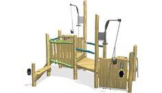 Oasis Gravel Pit - NRO532 - Sandpits and Waterplay - Playground Equipment - KOMPAN