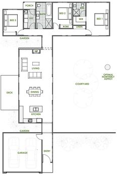 Energy Efficient Home Upgrades in Los Angeles For $0 Down -- Home Improvement Hub -- Via - The Callisto offers the very best in energy efficient home design from Green Homes Australia. Take a look at the floor plan here.