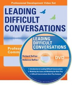 Learn discussion strategies to address the conflicts that can result from transforming a school into a professional learning community. Professional Learning Communities, Professional Development, Difficult Conversations, Book Cover Design, Package Design, Portfolio Design, Amy, Portfolio Design Layouts, Packaging Design