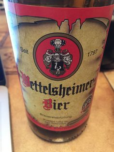 Wettelsheimer Bier Beer Brands, World, Ale, Branding, Beer