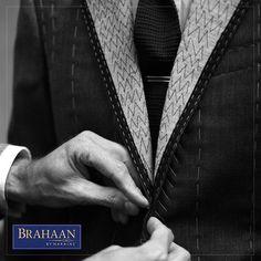 Improve your wardrobe, this season with the help of the craftsmanship of luxury #BrahaanbyNarains #BespokebyBrahaan