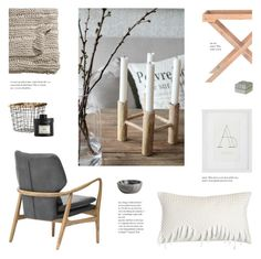 """""""Let the Nature in"""" by little-bumblebee ❤ liked on Polyvore featuring interior, interiors, interior design, home, home decor, interior decorating, Pom Pom at Home, H&M, Safavieh and House Doctor"""