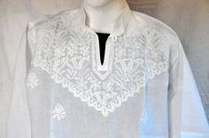 Plus size Mens tunic short shirt Long by KurtiTunicTopLucknow, $36.99