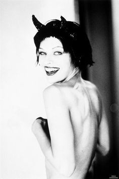 Something is. milla jovovich nude and naughty