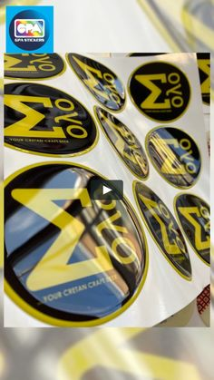 """This is """"Domed Labels made for Solo Brewery"""" by GPA STICKERS on Vimeo, the home for high quality videos and the people who love them. Craft Beer, Brewery, Stickers, Videos, People, Art, Art Background, Kunst, Performing Arts"""