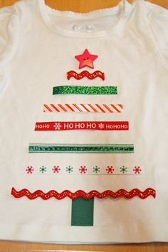 And I Thought I Loved You Then: Christmas Tree Tshirt saw something like this at belk for $22, I'll DIY that cause that's how we do it!