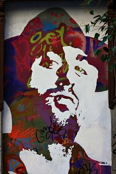 Boa Mistura (urban artist group) en la calle San Agustín. Madrid